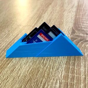 SD Card Mountain - Holds 5 SD Cards